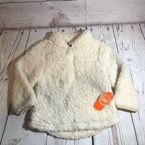 NWT Wonder Nation Fuzzy jacket